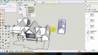 如何分离粘在一起的SketchUp模型-场景整理