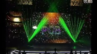 大族激光激光演示之2004年大族激光元旦晚会激光开场表演