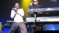 Stevie Wonder and Frederic Yonnet JAM