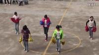 梁平县和林镇初级中学学生表演《啦啦操》