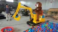小苹果之熊出没挖掘机合集版!!!