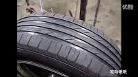 真缺德!翻新汽车轮胎