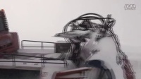 冰天雪地的阿尔卑斯山考验水泵