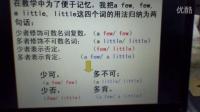 不定代词a few, few, a little, little 的用法 (李佳秀)