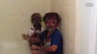 【片区首发】youtube爆笑热门 满脸颜料的萌童