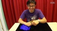 【魔术教学】橡皮筋穿越手指魔术教学