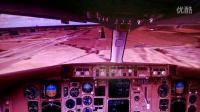 国航763巴黎戴高乐机场降落