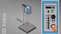 西克(SICK)OD Value 短量程激光测距传感器:功能演示