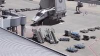 军事装备从罗斯托夫(俄罗斯)的机场,在新俄罗斯的转移(秘密拍摄SBU)