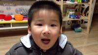 姜宇宸表演儿歌《我是一朵小雪花》