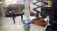 静安香格里拉的施华洛世奇水晶树是如何炼成的2