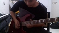 全面电吉他教程《摇滚卡农》教程演示,效果没做好。