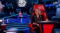【美国之声】独一无二的逗逼米宝。翻版米勒 The Voice 2014 Blind Audition - Chris Jamison- -Gravity-