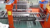 电梯层门板搬运点焊生产线