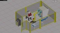 工业4.0在线-特斯拉机器人教育 发那科机器人自动抛光工作站