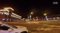 冬日迷情,夜行崇礼街头
