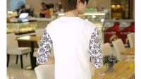 秋冬装男长袖T恤2014新款纯棉男士长袖 上衣韩版修身潮休闲打