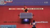 2014东京世乒赛男团小组赛_庄智渊VS金南哲_高清乒乓球比赛视频剪辑_右手横拍