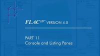 FLAC3D 4.0 Feature Tour Parts 9-13