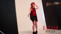 《时尚芭莎》史上最年轻封面女郎:邓紫棋,拍摄花絮揭秘