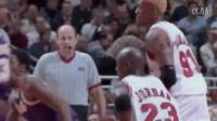 乔丹VS科比 早期来自赛场上的比拼较量!超清篮球比赛视频