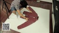 【拍摄篇】网店秋冬男装平铺拍摄 上 造型布光