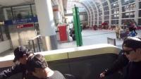 韓國人氣男組合   N-SONIC @ 扺達香港國際机場 20141220 (接机)