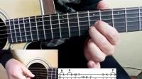 七星吉他指弹教学视频第十五课river flows in you(中)教学视频指弹吉他视频