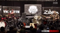 003 Russ Miller and World Percussionist Pete Lockett Duet