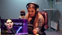 Ariana Grande reacts to the Jessie J Shred _ Interview