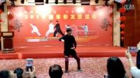 朱向华在母亲七十大寿上的精彩太极拳表演 高智勇手机拍摄上传