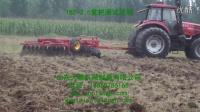 东方红1804拖拉机 重型圆盘耙耕地测试