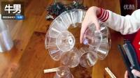 用完的一次性胶杯不要丢掉 动动手把它变成节日的焦点