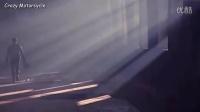 炫酷宝马摩托车广告拍摄现场