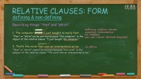 英语写作English Writing Lesson 3a: Relative Clauses