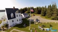 FlyEye精编美国缅因州4K画质航拍随心而动