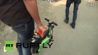 世界上最小的电动摩托车--印度