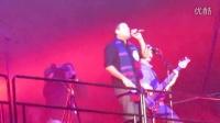 摇滚乐队Alien Ant Farm演唱Smooth Criminal 2015-01-09 活塞主场对老鹰