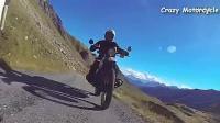 欧洲老头驾驶老款宝马摩托车游欧洲综合篇