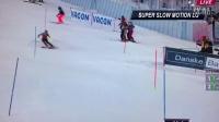 Shiffrin Mikaela  slalom Levi 2013 慢动作