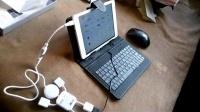 [龙组白龙]台电x89双系统版连接鼠标键盘测试