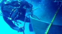 高清BROCO水下切割操作视频