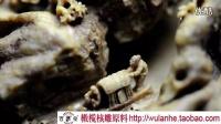 中国最小的桃核核舟