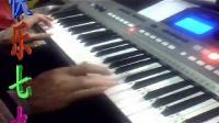 用最新电子琴 PSR-E443演奏 园舞曲