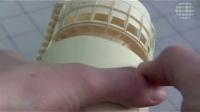 用纸做的波音777客机模型