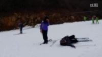 【骞骞的脚印】云佛山滑雪 摔跤大合集