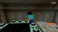 我的世界_minecraft 如果新手去跟终界龙战斗 中文字幕