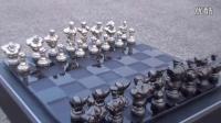 国内街头霸王限量版国际象棋开箱视频