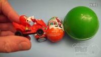 出奇蛋了解尺寸從最小到最大!打開雞蛋用玩具,糖果和樂趣!第7部分