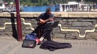 《卡农》古典吉他版:皇后镇街头艺人经典演奏
